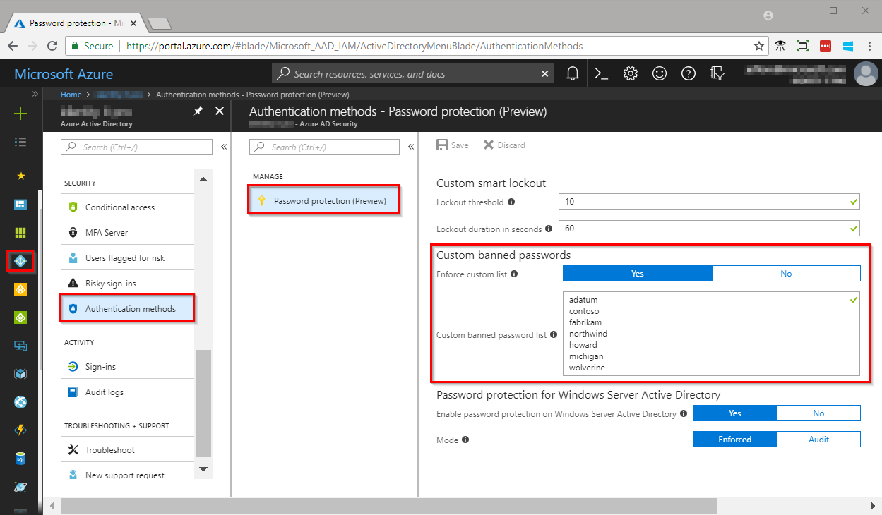 Public Azure Ad Password Protection — ZwiftItaly